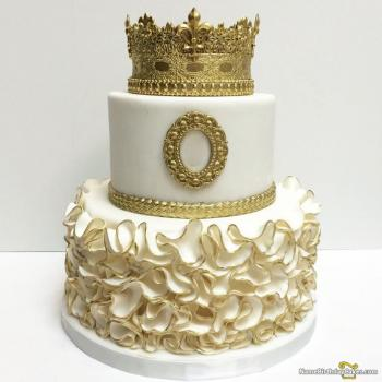 princess crown cakes