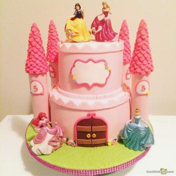 Marvelous Princess Birthday Cake Get Exciting Ideas For Girl Birthday Personalised Birthday Cards Veneteletsinfo