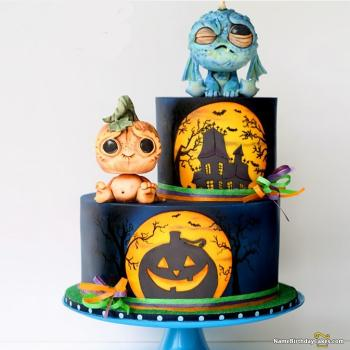 scary halloween cakes