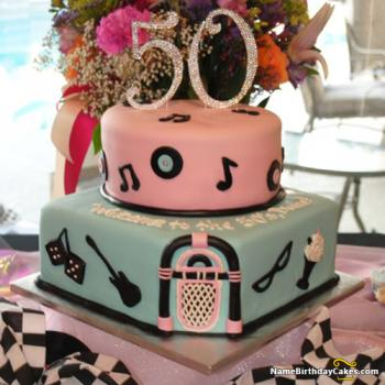 special 50th cake ideas