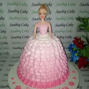 special barbie birthday cake