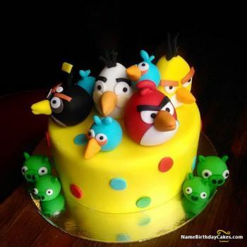 special bird cake