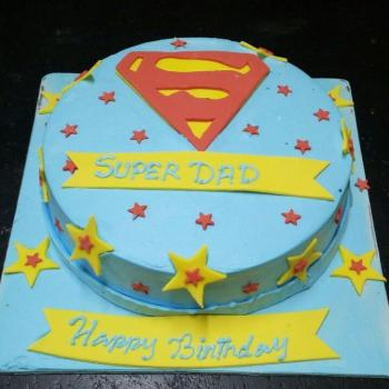 super dad cake for daddy