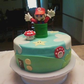 super mario cake ideas