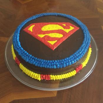 superman cake ideas
