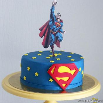 Cool Best Ever Superman Cake Invite Most Famous Hero At Birthday Funny Birthday Cards Online Bapapcheapnameinfo