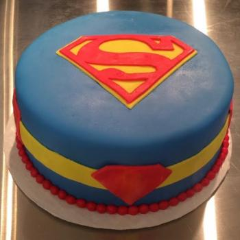 superman fondant cake ideas