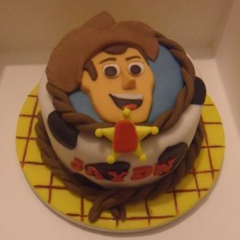 toy story cake design