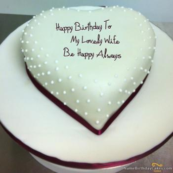 wife birthday cake images