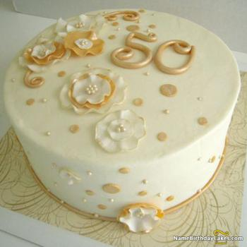 women 50th birthday cake images