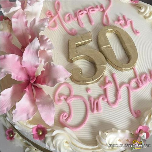 Phenomenal 50Th Birthday Cakes For Her Download Share Funny Birthday Cards Online Alyptdamsfinfo