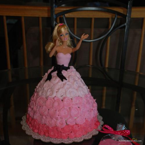 Barbie Doll Birthday Cake Download Amp Share