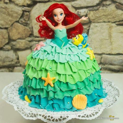 Barbie Doll Cake For Daughter Download Share