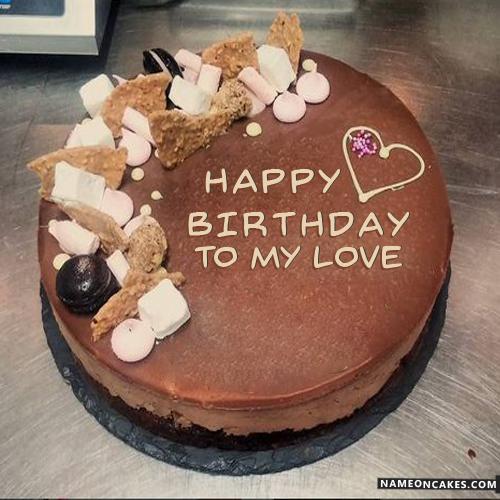 Phenomenal Big Chocolate Birthday Cake Download Share Personalised Birthday Cards Veneteletsinfo
