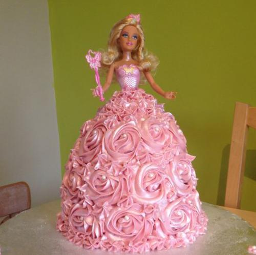 Birthday Barbie Cake Images Download Share