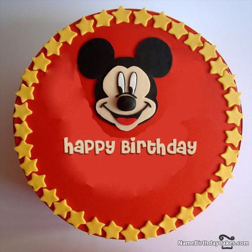 Birthday Cake For Kid Boy