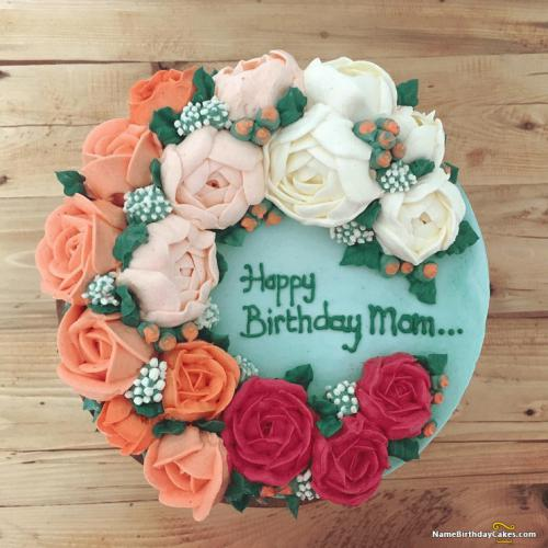 Stupendous Birthday Cake For Mom Images Download Share Personalised Birthday Cards Arneslily Jamesorg