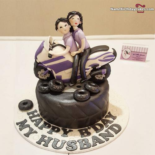 Enjoyable Birthday Cake Ideas For Husband Download Share Personalised Birthday Cards Veneteletsinfo