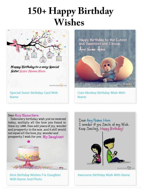 Birthday Wishes With Name Download Share