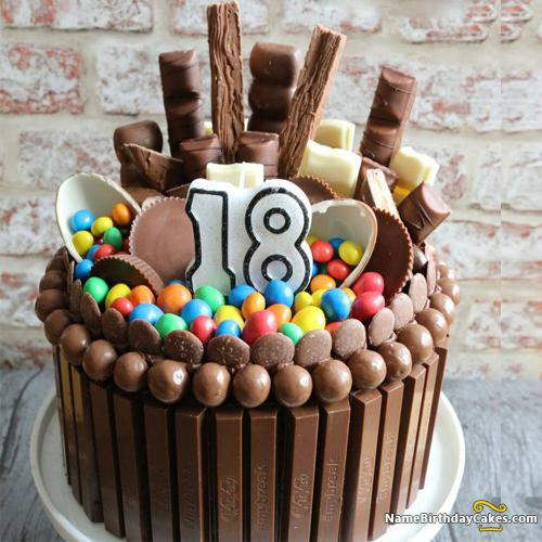 Chocolate 18th Birthday Cake Download Amp Share