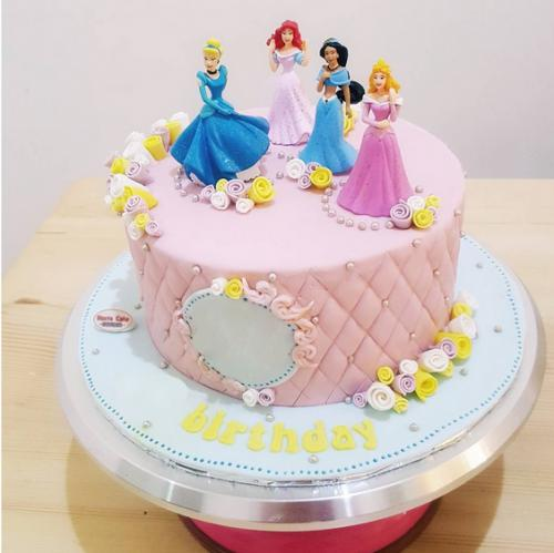 Brilliant Cinderella Birthday Cake Ideas Download Share Birthday Cards Printable Riciscafe Filternl