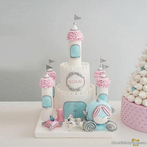 Magnificent Cinderella Castle Cake Download Share Funny Birthday Cards Online Fluifree Goldxyz