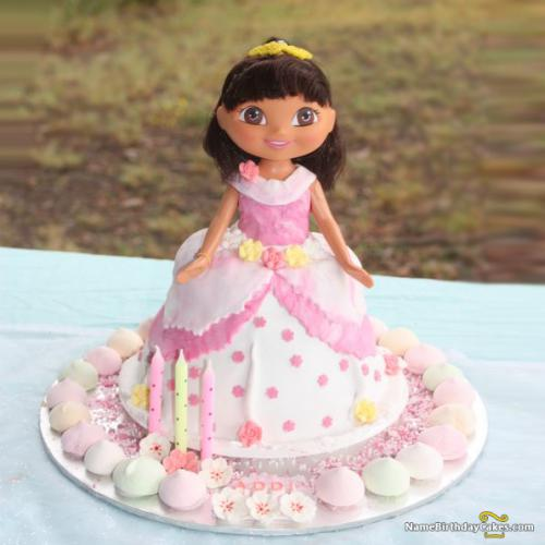 Dora Birthday Cake Game