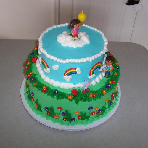 Dora Birthday Cake Wishes Download Share