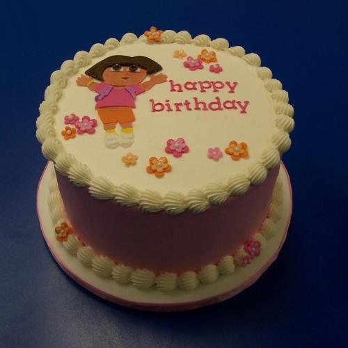 Outstanding Dora Cake For Girls Download Share Birthday Cards Printable Benkemecafe Filternl