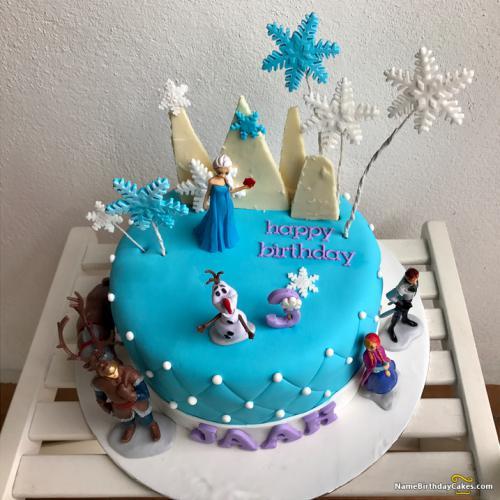 Swell Frozen Birthday Cake Ideas Download Share Birthday Cards Printable Giouspongecafe Filternl