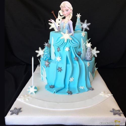 Frozen Themed Birthday Cake Download Share