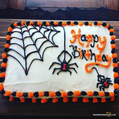 Fine Halloween Birthday Cake Ideas Download Share Personalised Birthday Cards Petedlily Jamesorg