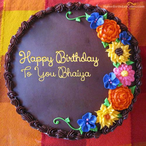 Happy Birthday Bhaiya Cake Download Share