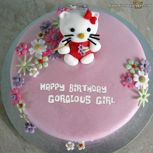 Happy Birthday Cake For Kid Girl Download Amp Share