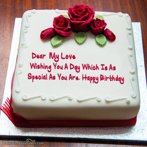 Amazing Happy Birthday Cake Love Download Share Funny Birthday Cards Online Inifofree Goldxyz