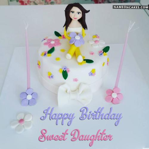 Happy Birthday Daughter Cake Download Amp Share