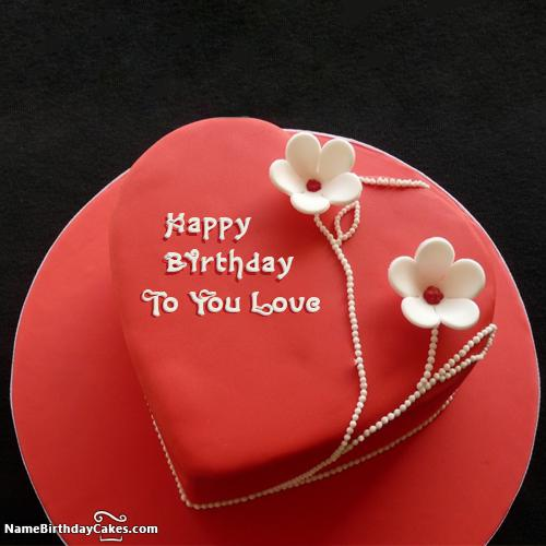 Happy Birthday Cakes For Lover With Name: Download & Share