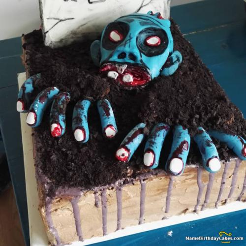 Super Happy Halloween Themed Cakes Download Share Funny Birthday Cards Online Fluifree Goldxyz
