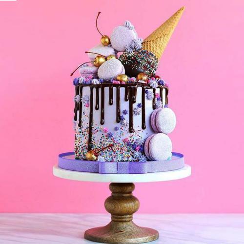 Kids Birthday Ice Cream Cake Download Share