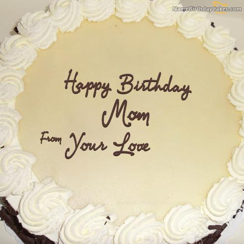 Mother Birthday Cake With Name Download Share