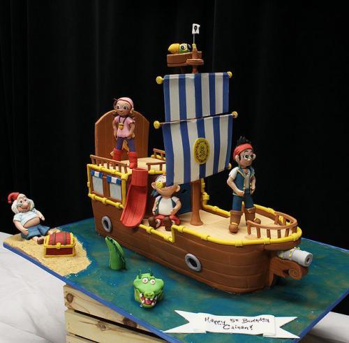 Pirate Ship Birthday Cake Download Share