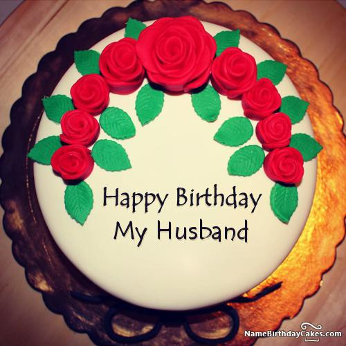 Romantic Birthday Cake For Husband Download Share