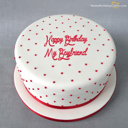 Romantic Birthday Cake For My Boyfriend Download Share