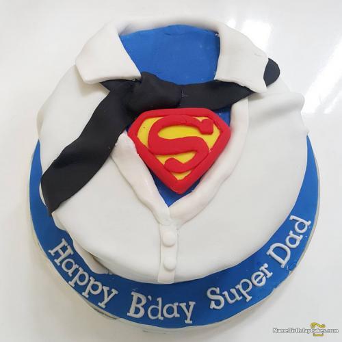 Super Dad Birthday Cake Download Share