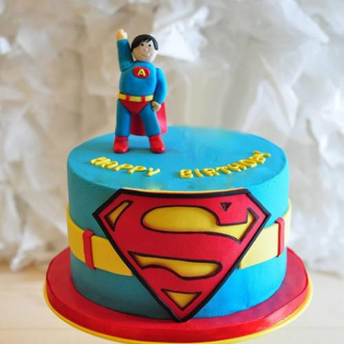Tremendous Superman Birthday Cake Download Share Funny Birthday Cards Online Bapapcheapnameinfo