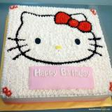 Birthday Hello Kitty Cake: Famous Character For Kids