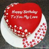 Romantic Birthday Cake for Lover: Express Your Love