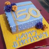 50th Birthday Cakes For Men And Women - Ideas & Designs