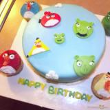 Angry Birds Birthday Cake: Biggest Treat For Your Child