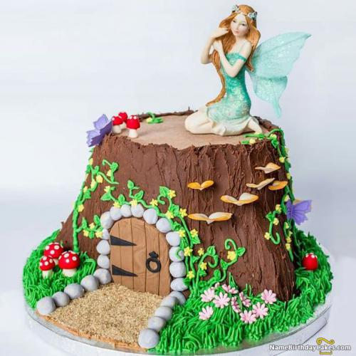 Beautiful Fairy Birthday Cake Best Fairy Cakes Ideas